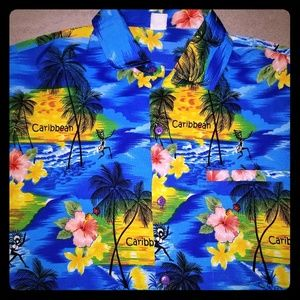 Beach beauty, Men shirt,  size L.